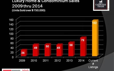Luxury Home and Condominium Sales up 36% in 2014